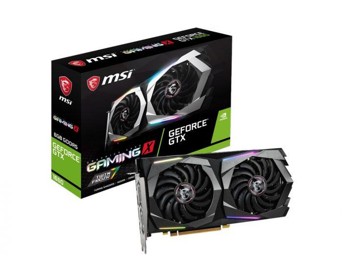 MSI представляет новую серию видеокарт GeForce GTX 1660