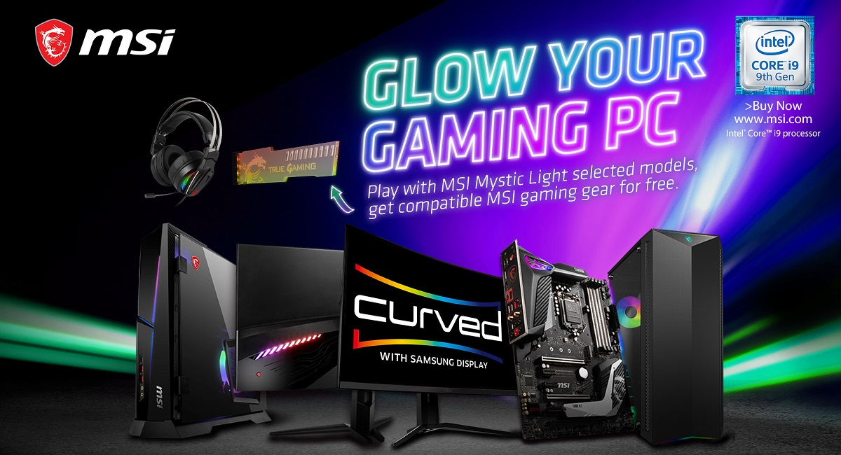 MSI Glow Your Gaming PC