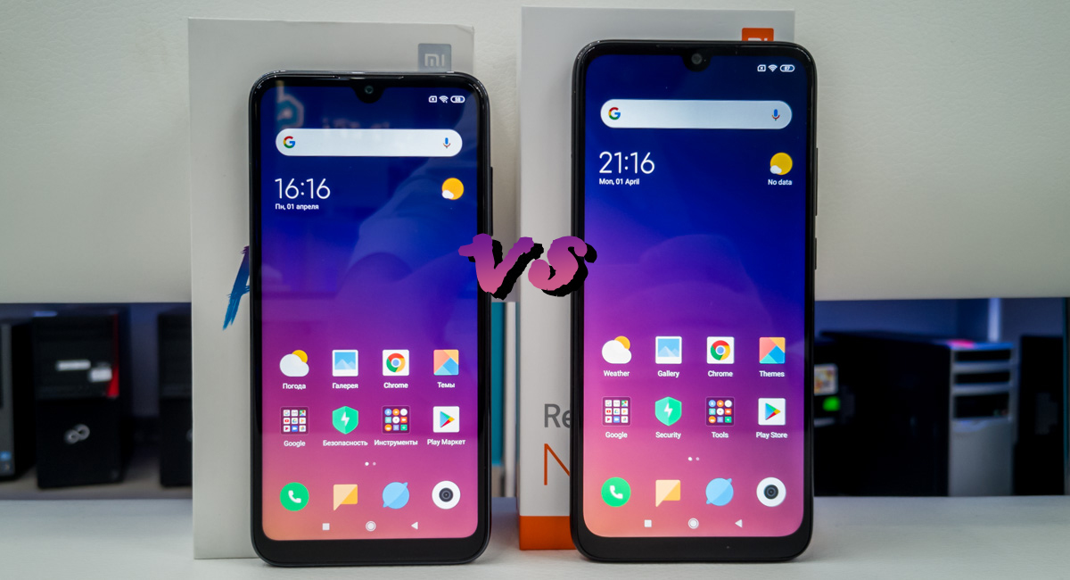 Mi Play vs Redmi Note 7