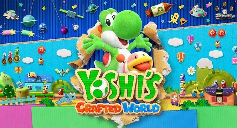 Обзор Yoshi's Crafted World – Бумажная нирвана