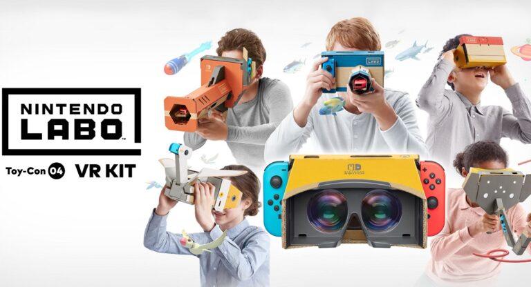 Обзор Nintendo Labo: набор VR – Виртуальная реальность ещё никогда не была такой доступной