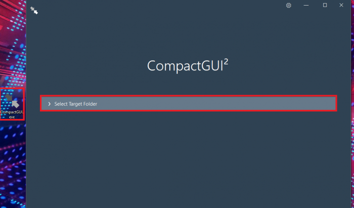 CompactGUI для Windows