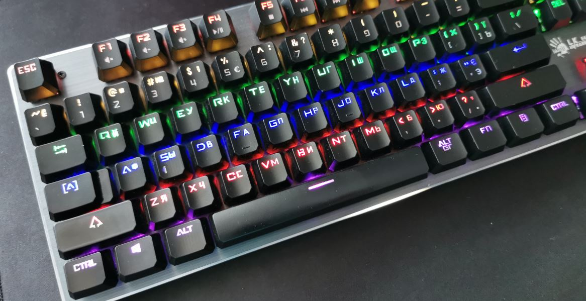 Обзор клавиатуры A4Tech Bloody B760 - моя первая механика