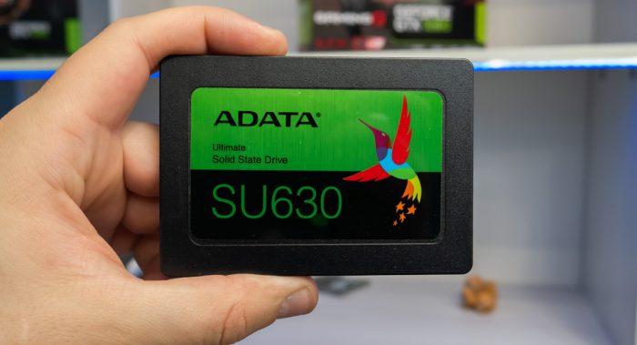 Обзор SSD ADATA SU630 ёмкостью 480 ГБ