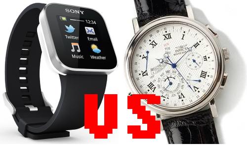 механические vs. умные часы