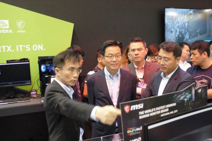 MSI сотрудничает с Samsung для создания совершенно нового изогнутого игрового монитора