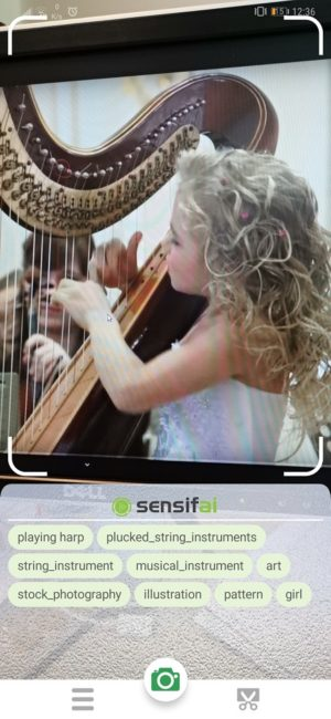 Sensifai Video Recognition App