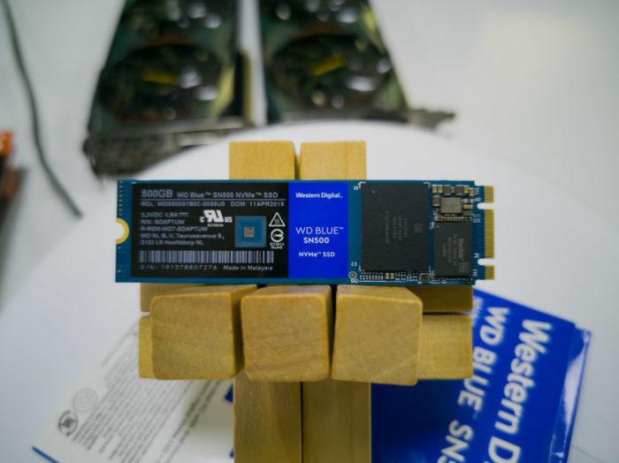 Обзор NVME-накопителя Western Digital Blue SN500