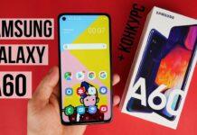 Огляд Samsung Galaxy A60