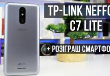 Огляд TP-Link Neffos C7 Lite