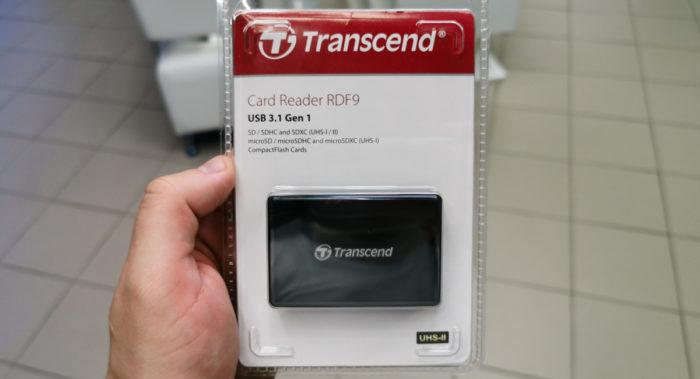 Обзор кард-ридера Transcend RDF9 и карты памяти Transcend V30 128GB