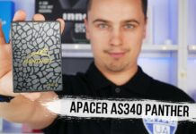 Огляд Apacer AS340 Panther