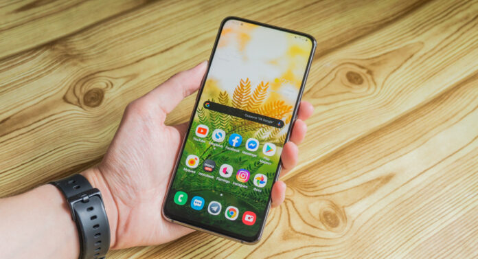 Galaxy A80 design and display