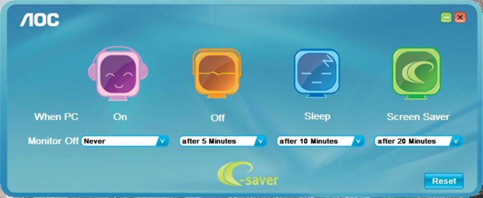AOC Q2790PQU/BT e-Saver