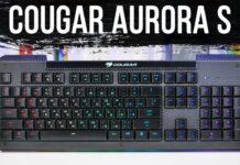 Огляд клавіатури Cougar Aurora S