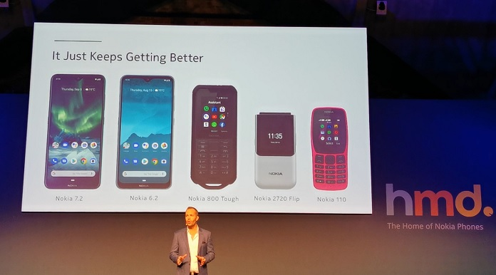 IFA 2019: Новинки Nokia - 6.2, 7.2, 110, 2720 Flip, 800 Tough