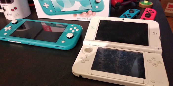 Nintendo Switch Lite compared to 3DS XL