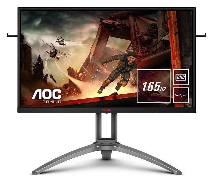 AOC представляет новый QHD-монитор AG273QX с поддержкой HDR