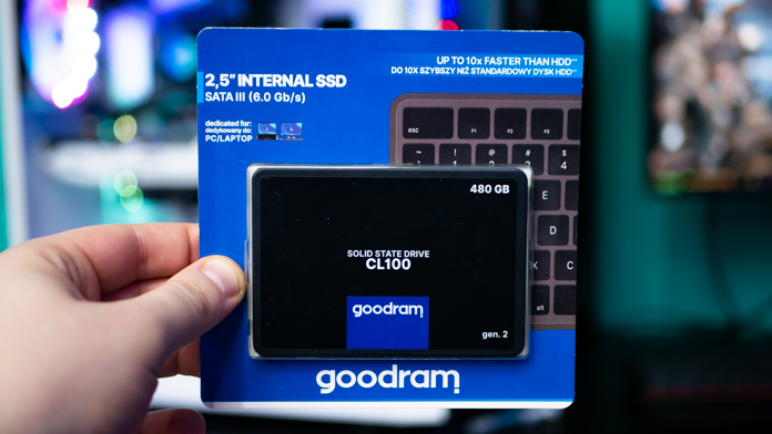 GOODRAM CL100 Gen. 2 480GB