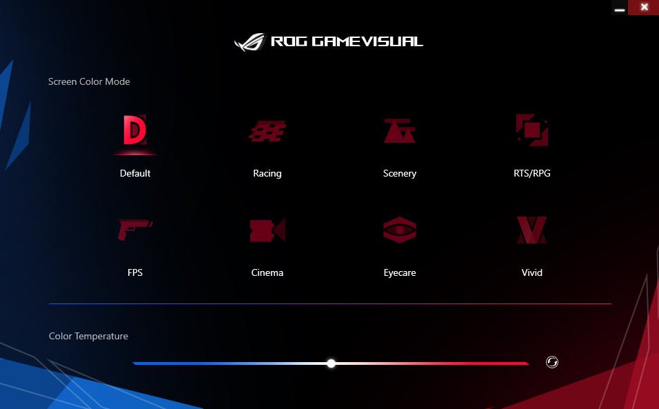 ASUS ROG GameVisual