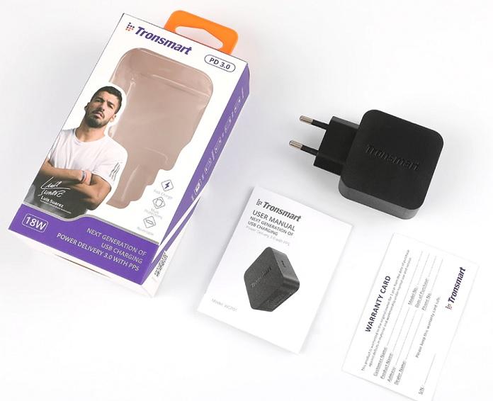 Tronsmart WCP01 - компактная зарядка с USB-C
