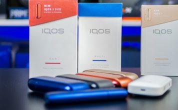 Сравнение всех моделей IQOS