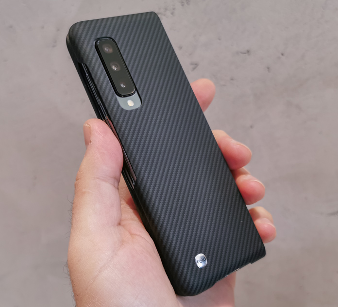 Samsung Galaxy Fold -кевларовый чехол