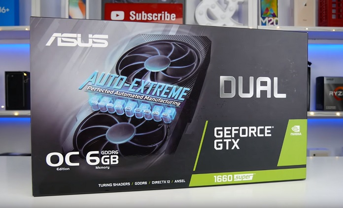 ASUS GeForce GTX 1660 SUPER DUAL EVO OC