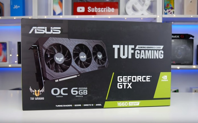 ASUS GeForce GTX 1660 SUPER TUF Gaming X3 OC