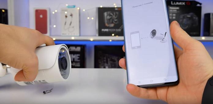 Огляд 3G-камери для відеоспостереження Jimi JH012