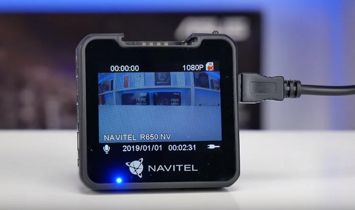 Огляд відеореєстратора Navitel R650 NV