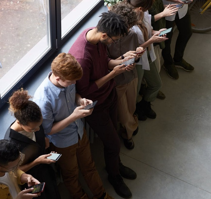 The social side of smartphones