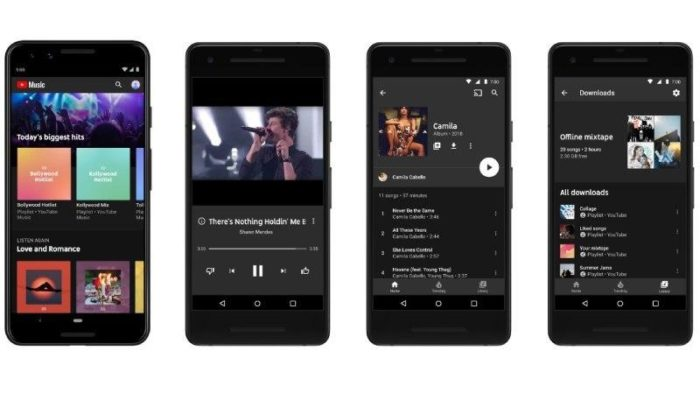 Google додає upload до YouTube Music