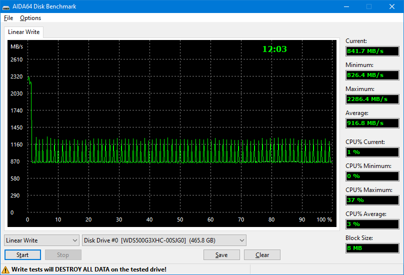 WD Black SN750 500GB Heatsink
