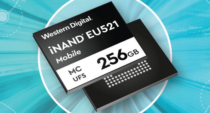 WD iNAND MC EU521