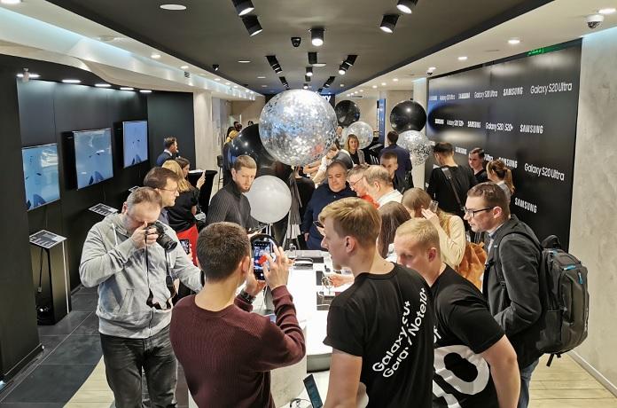 Репортаж с презентации Samsung Galaxy S20/S20+/S20 Ultra