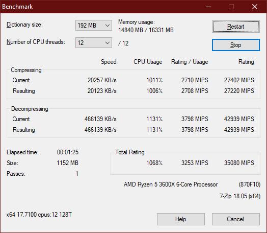 Apacer NOX DDR4 3200 2x16GB