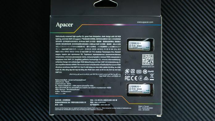 Apacer NOX RGB DDR4 3200 2x8GB
