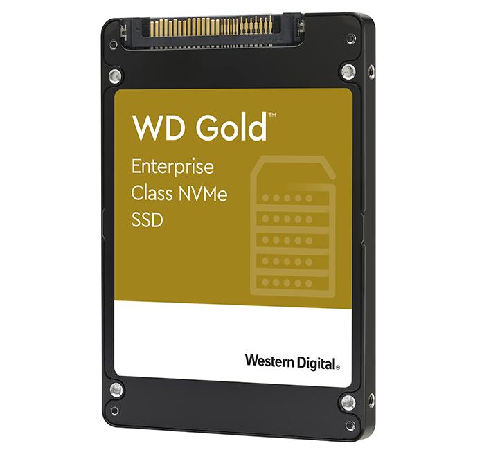 WD Gold NVMe от Western Digital: SSD-накопители для предприятий