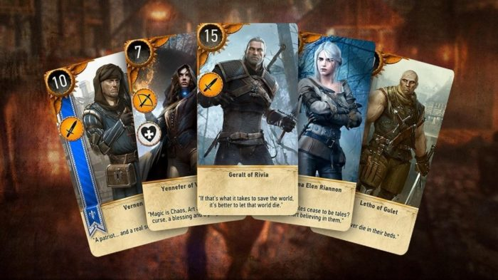 gwent android witcher