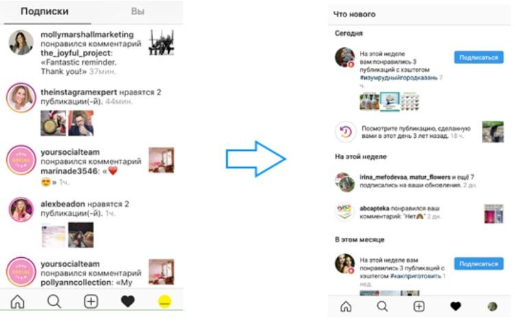 Как посмотреть лайки в Инстаграм