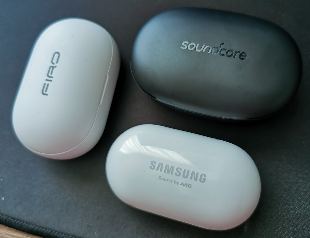 Samsung Galaxy Buds+ vs FIRO A5 vs Anker Soundcore Life Note