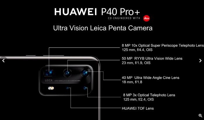 серія Huawei P40
