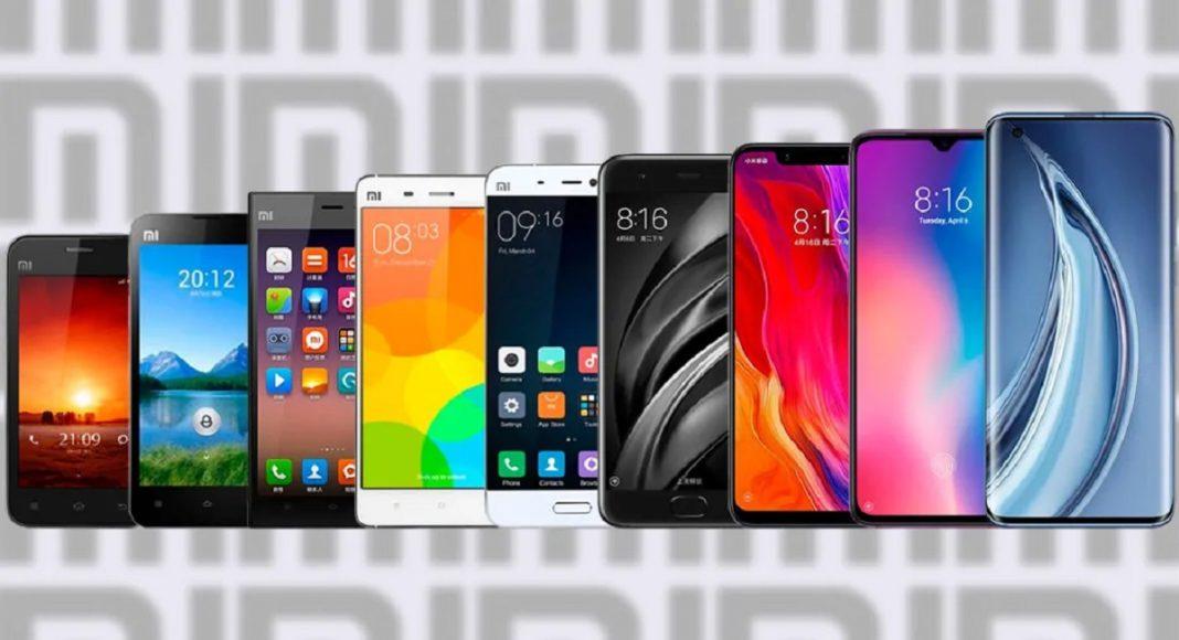 Еволюція флагманів Xiaomi - згадуємо всі смартфони лінійки Mi
