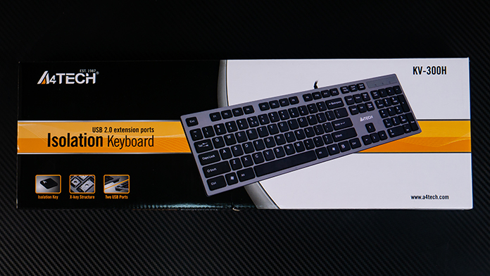 "Обзор A4Tech KV-300H: Супер-клавиатура ""ножничного"" типа для набора текста"