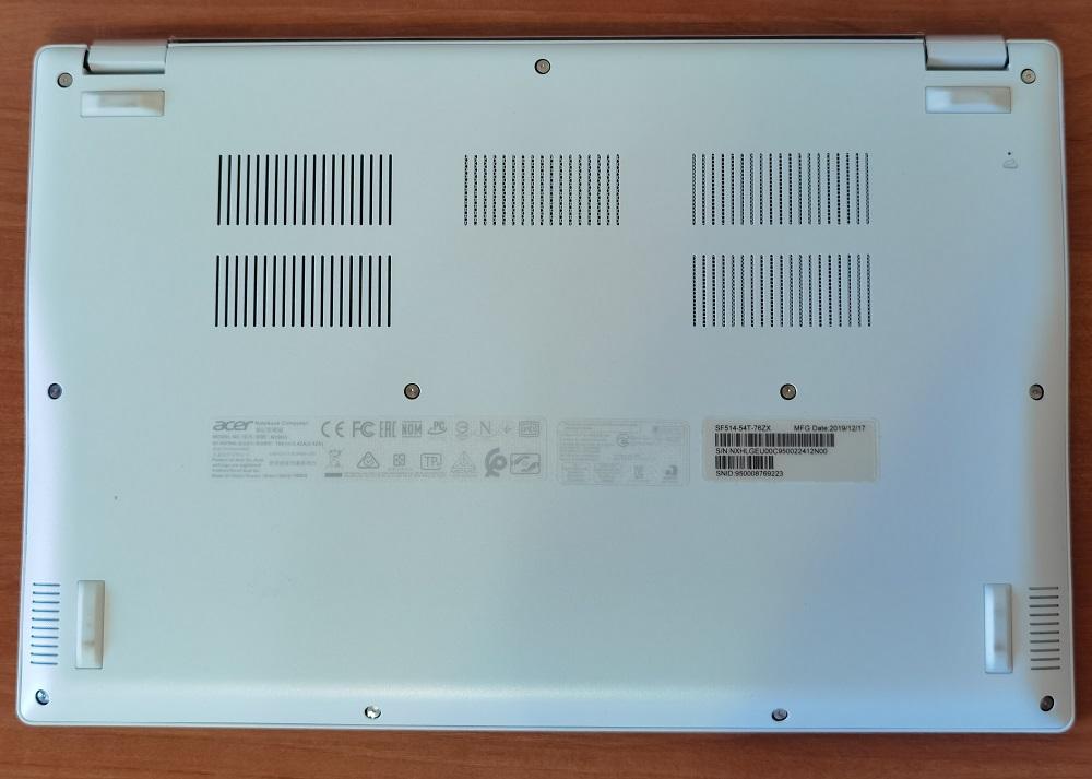 Обзор Acer Swift 5 (SF514-54T) - элегантный, легкий и мощный ультрабук