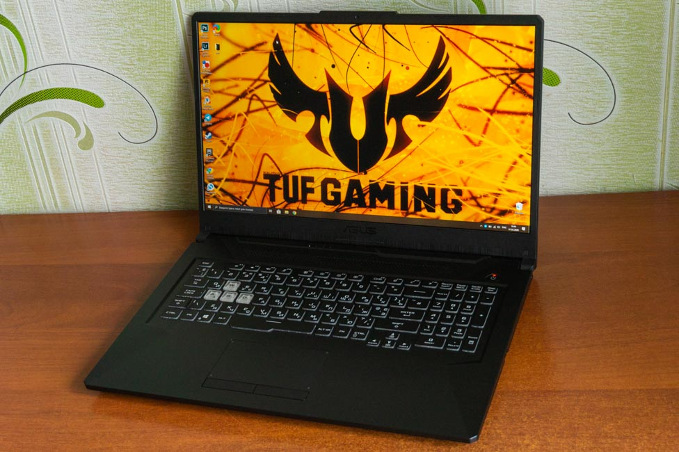 Asus Tuf Gaming A17 Laptop Review Root Nation