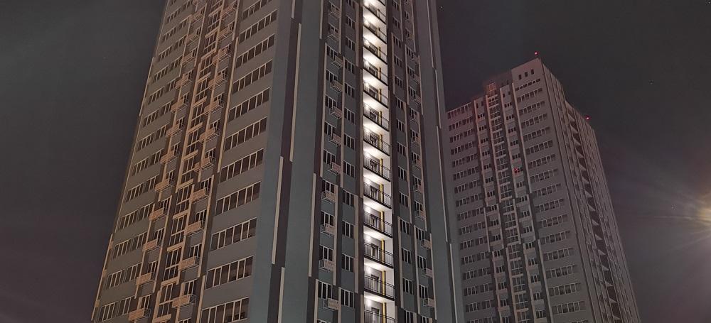 Huawei P40 Pro - night mode