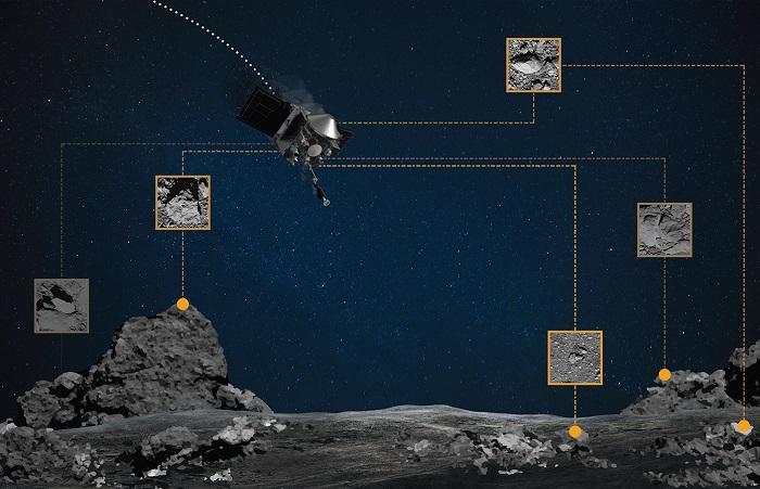 OSIRIS-REx NASA успішно зібрав фрагменти орбітального астероїда