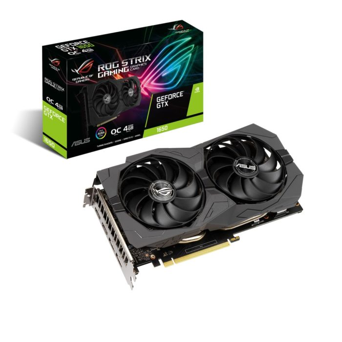 ASUS представляет видеокарты ROG Strix, TUF Gaming и Phoenix GeForce GTX 1650 GDDR6